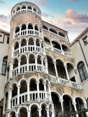Scala Contarini del Bovolo #1 Canvas Prints