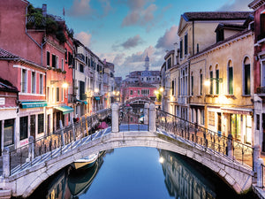 Venetian Canale #15 Canvas Prints