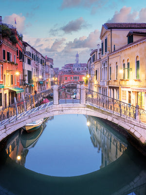 Venetian Canale #16 Canvas Prints