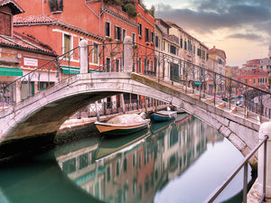 Venetian Canale #17 Canvas Prints