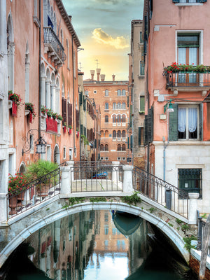 Venetian Canale #20 Canvas Prints