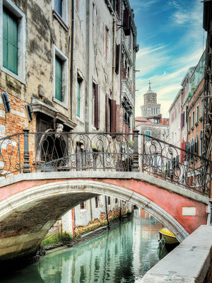 Venetian Canale #21 Canvas Prints