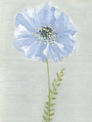 Jardin Bleu II Canvas Art