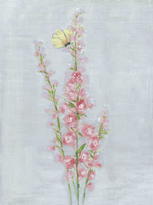 Foxglove Garden I Canvas Art
