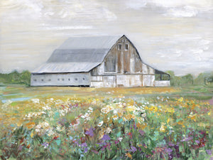 Country Fields Canvas Art
