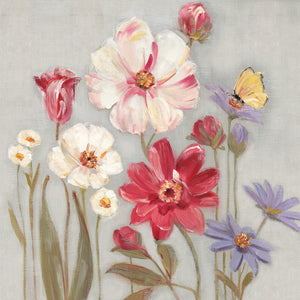 Papillion Garden Canvas Art
