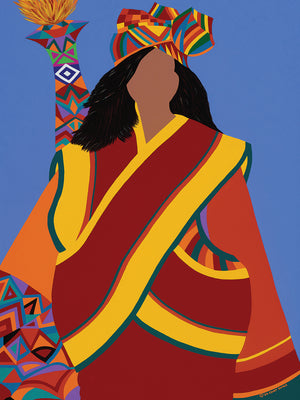 Kamala: Protectress of the People Canvas Art