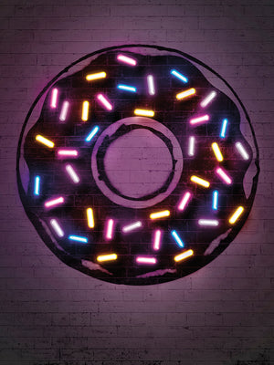 Donut Canvas Art