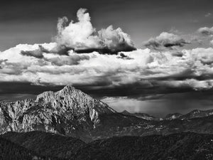 View of the Peaks Canvas Prints