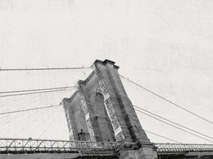 Brooklyn Bridge From Below Canvas Prints