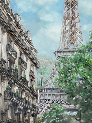 Parisian Morning Canvas Prints