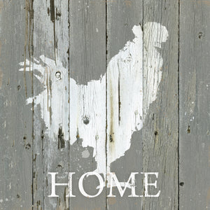 Rooster Home Canvas Print