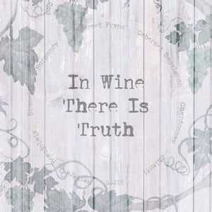 In Wine There Is Truth Canvas Print