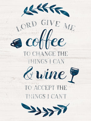 Coffee & Wine Canvas Print