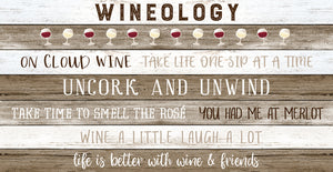Wineology Canvas Print