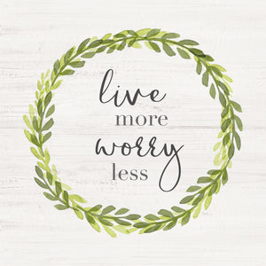Live More Canvas Print