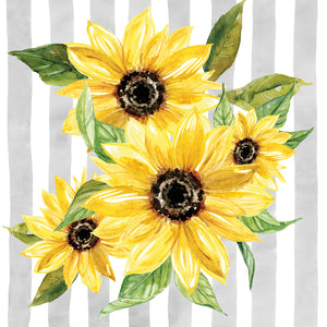 Sunflower Array I Canvas Print