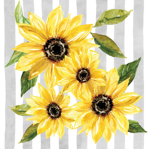 Sunflower Array II Canvas Print