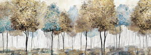 Soft Spring Panoramic Canvas Print