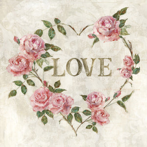 Love Heart Canvas Print