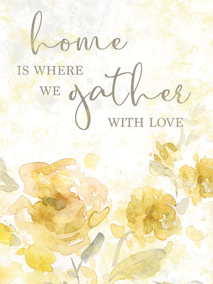 Gather with Love Canvas Print