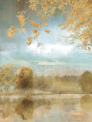 Golden Fall Canvas Print