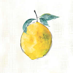 Happy Lemon Canvas Print