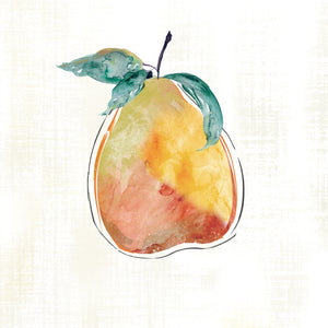 Happy Pear Canvas Print