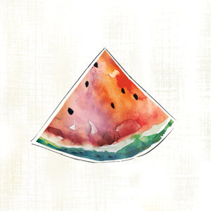 Happy Melon Canvas Print