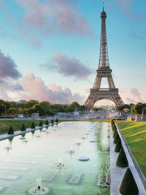 Eiffel Tower View I Canvas Print