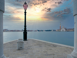 Gran Canale Sunrise #1 Canvas Print