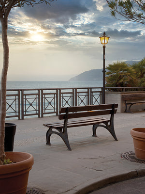 Monterosso Sunrise #2 Canvas Print