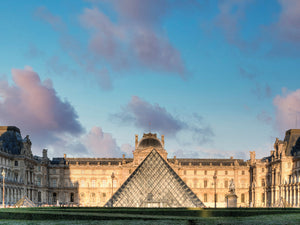 The Louvre Palace Museum I Canvas Print