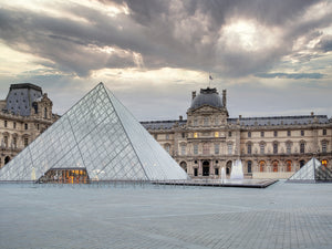 The Louvre Palace Museum II Canvas Print