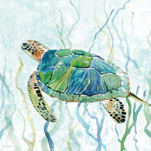 Sea Turtle Swim II Canvas Print