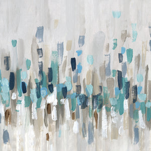 Staccato Blue I Canvas Print