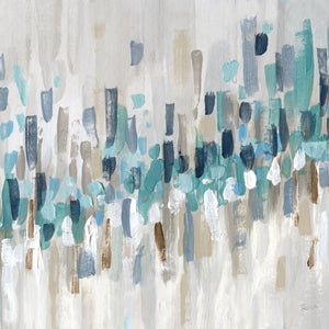 Staccato Blue II Canvas Print