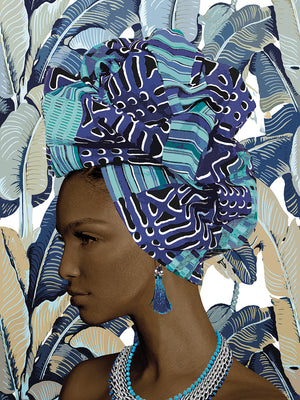 Fashion Gele Canvas Print