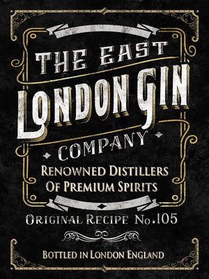 London East Gin Canvas Print