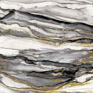 Marbled Gold II Canvas Print