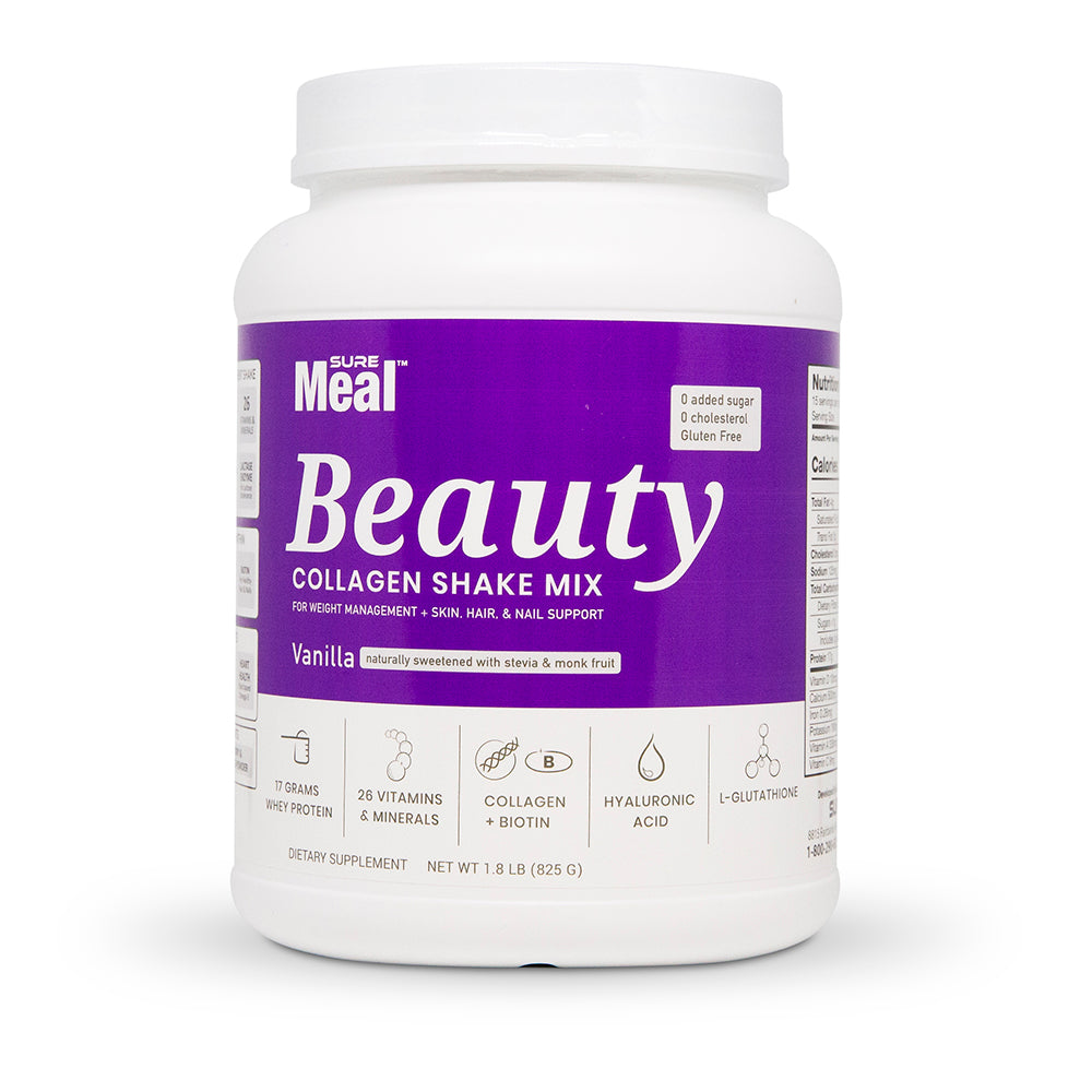 SureMeal™ Sữa Bột Beauty (Naturally Sweetened), Collagen & HA (15 Servings)