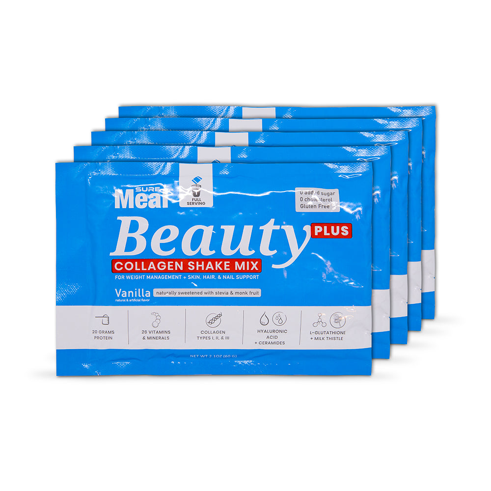 SureMeal™ Sữa Bột Beauty PLUS, Collagen & HA (15 Packets)