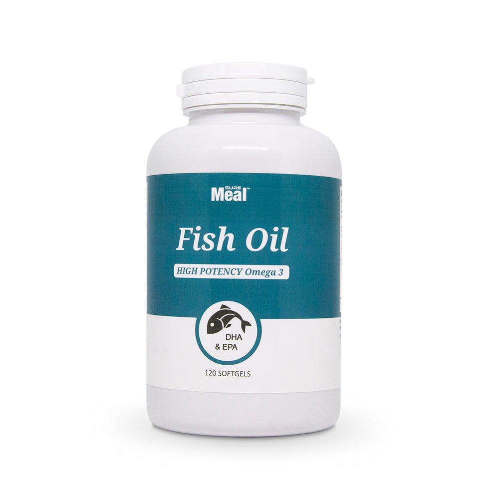 FISH OIL High Potency Omega-3 120 softgels