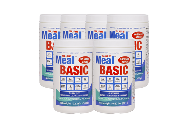 SureMeal™ Sữa Bột Basic (Box of 6, 42 Servings)