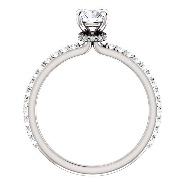 Blaise Moissanite Diamond Ring - YAREMA JEWELRY
