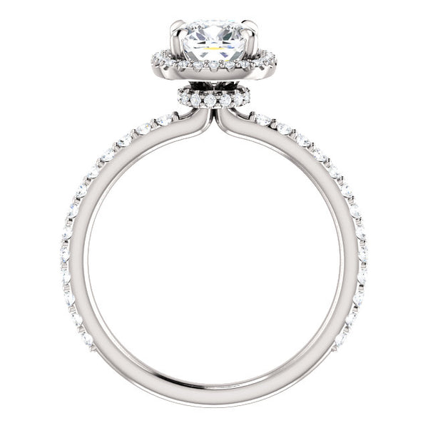 Noelle Moissanite Diamond Ring - YAREMA JEWELRY
