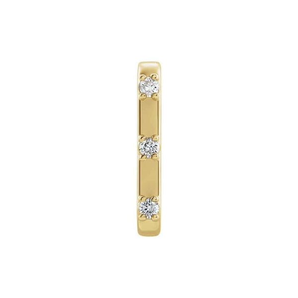 14k Diamond Ear Cuff Earring