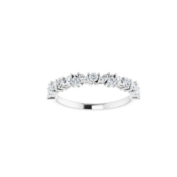 14k Diamond Olivia Ring