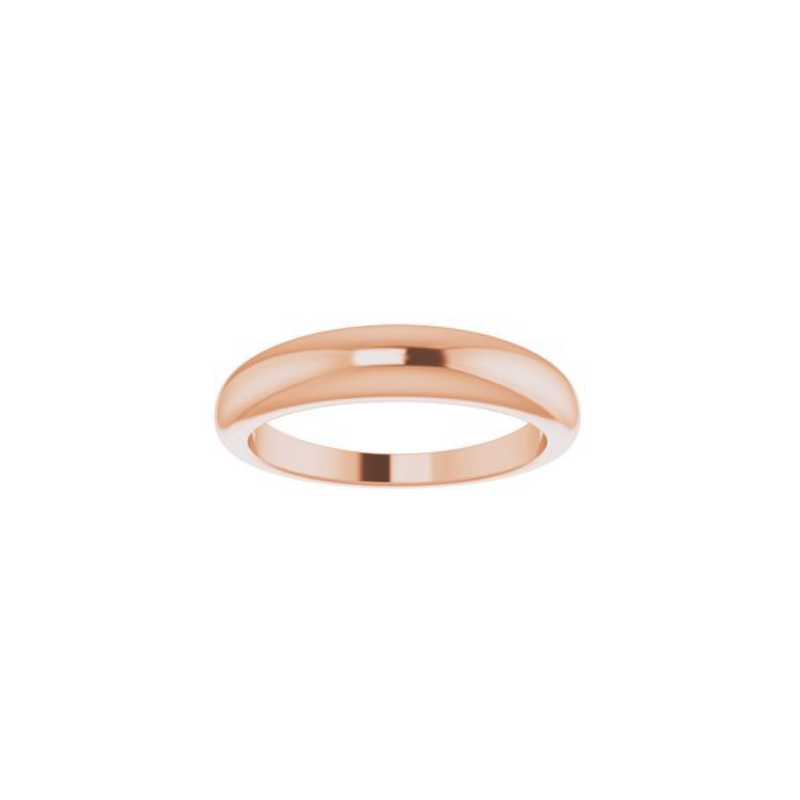 14K Gold Petite Dome Ring