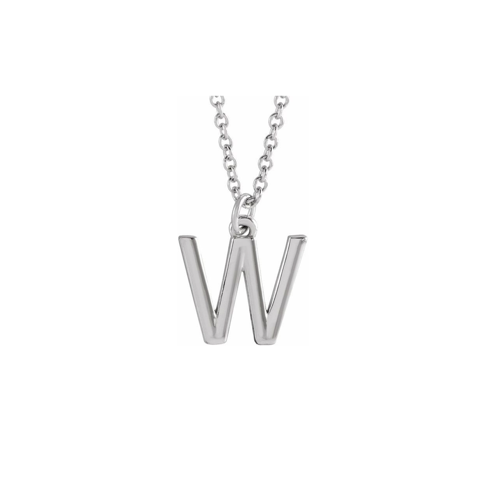 Initial Charm Necklace - YAREMA JEWELRY